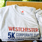 Westchester Corporate Cup 5K Summer Race Series t-shirt