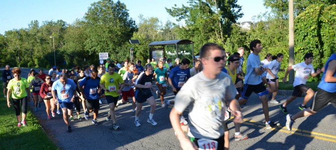 Westchester Corporate Cup 5k Race, August 14, 2013
