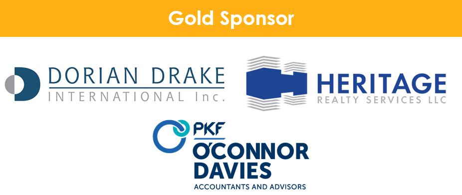 Dorian Drake International, Heritage Realty Services, O'connor Davies Accountants logos